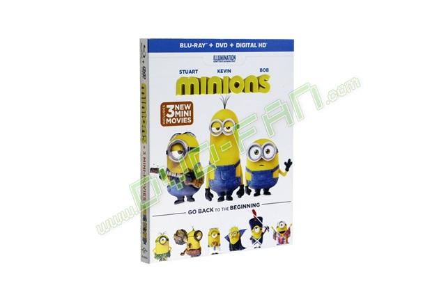 Minions bluray release date
