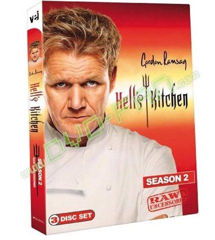 Hells Kitchen Season 2 Cartoon Dvd Wholesale