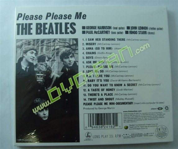 The Beatles: Stereo Box Set 16 CD & 1 DVD