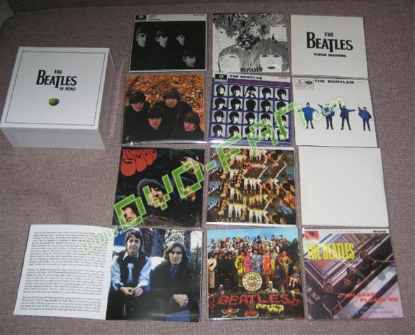 The Beatles Mono Boxset Music Cd Wholesale