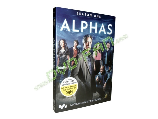 Alphas Season One dvd wholesale