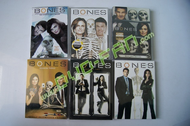 Bones complete seasons 1-6