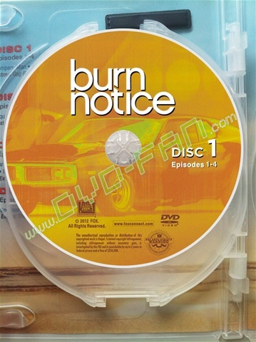 Burn Notice The Complete Fifth Season