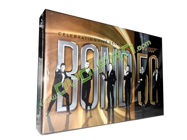 Bond 50 Celebrating 5 Decades of Bond 007 dvd wholesale
