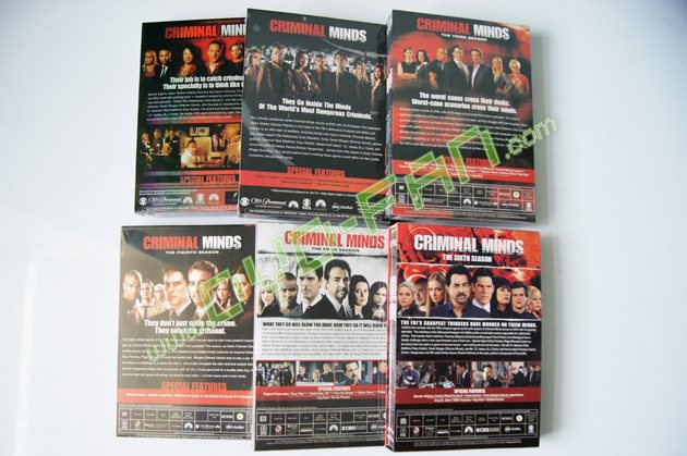 criminal minds 1-6