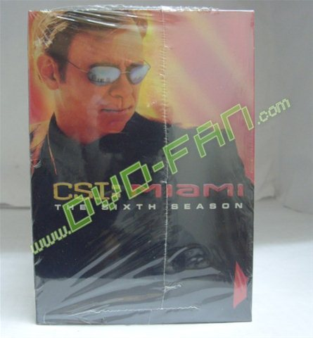CSI MIAMI the complete series 1-6
