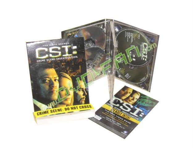 CSI SEASON 9 - CRIME SCENE INVESTIGATION