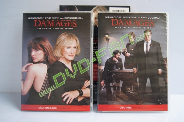 Damages The Fourth Season dvd wholesale