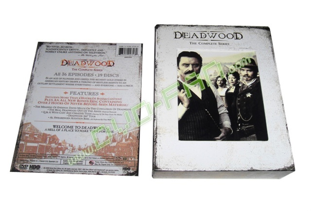 Deadwood: The Complete Seasons 1-3 movie