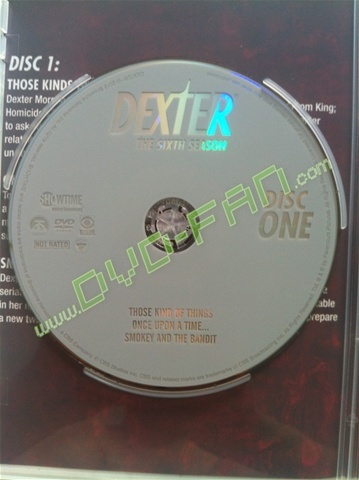 Dexter The Sixth Season dvd wholesale