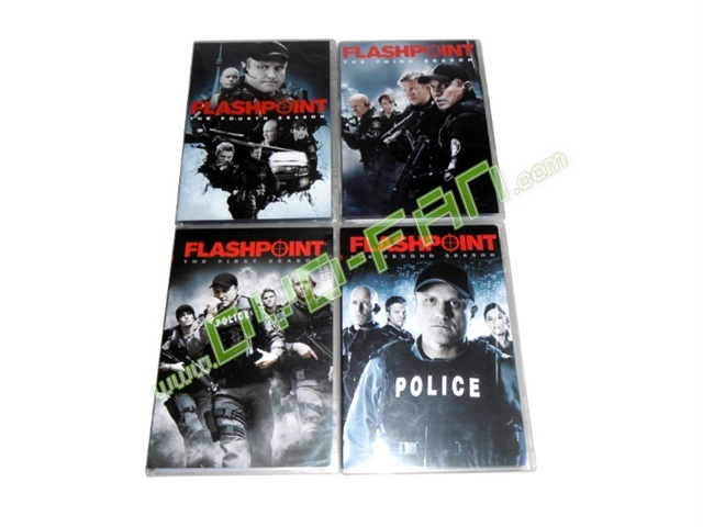 Flashpoint Seasons 1-4 dvd wholesale