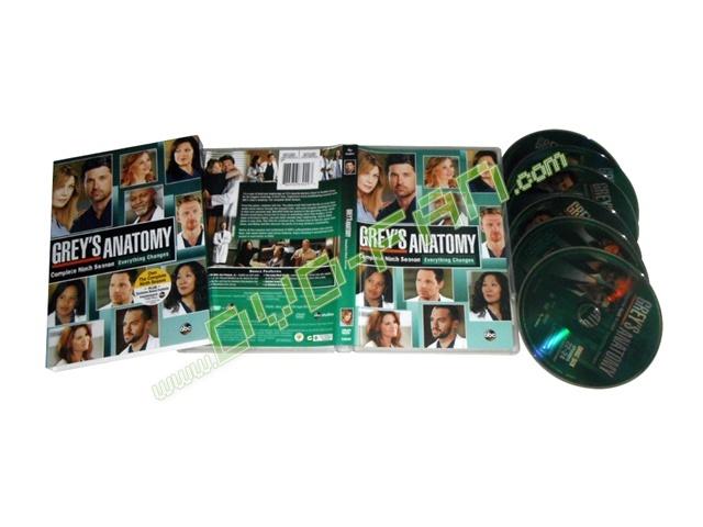 Greys Anatomy Season 9 Dvd Wholesale