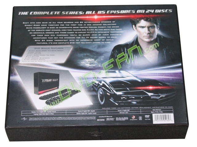 Knight Rider Dvd Collection Dvd Wholesale Knight Rider
