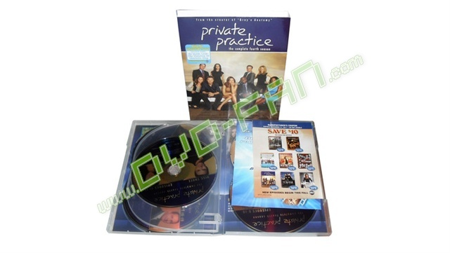 Private Practice Season 4 dvd wholesale