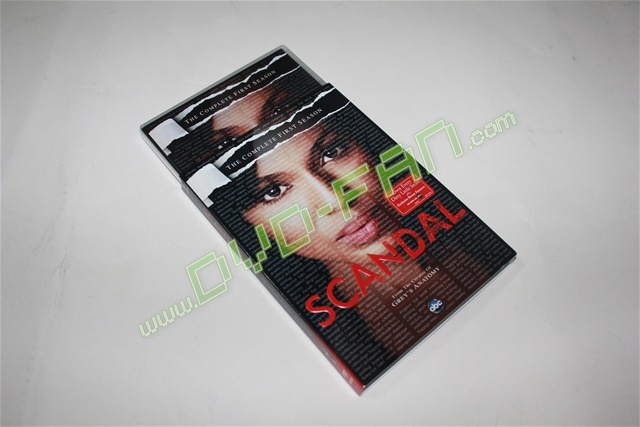 Scandal The Complete First Season tv shows wholesale