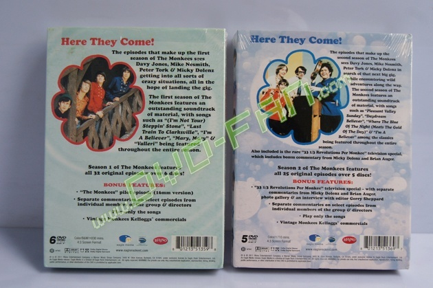 The Monkees complete seasons 1-2
