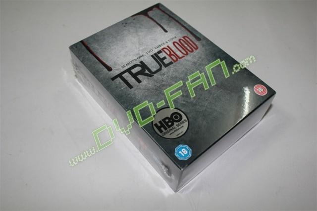 True Blood The Complete Seasons 1-4 UK version