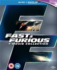 Fast and Furious 1-7 Collection [Blu Ray]
