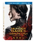 The Hunger Games Complete 4 Film Collection [Blu-ray]