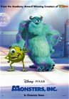 Monsters, Inc. Disney DVD